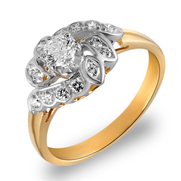 แหวนเพชรกระจุก